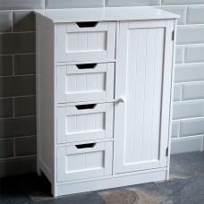 Bathroom Shelf Unit with Towel Storage Ideas