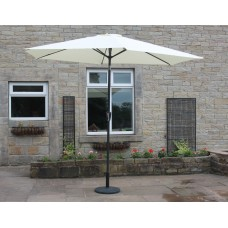 Parasol Cream Shade Umbrella 3M