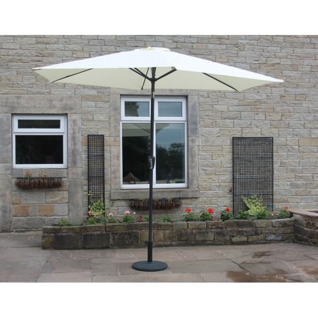 Parasol Cream Shade Umbrella 3M