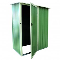 Yard Shed with Door Metal Storage for Tools