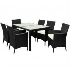 8 Seater Rattan Garden Furniture Rattan Table And Chairs