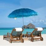 Beach Parasol Sun Umbrella Summer Style 160cm