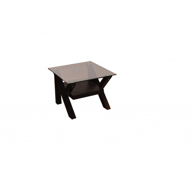Small Glass Table Glass Top Coffee Table Black