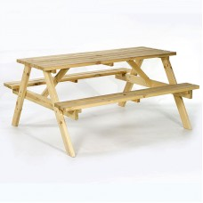 Outside Bench Outdoor Wooden Bench 6 Seats