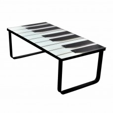 Glass Side Table Glass Top Coffee Table Piano