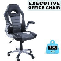 Luxury Executive Gaming Office Chair Computer Desk Pu Leather High Back Swivel