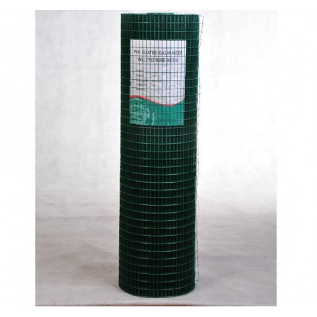 Mesh Fencing Chicken Wire Mesh PVC Coated Aviary Rabbit Fence 30M