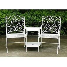 Metal Garden Seats Metal Garden Chairs Table