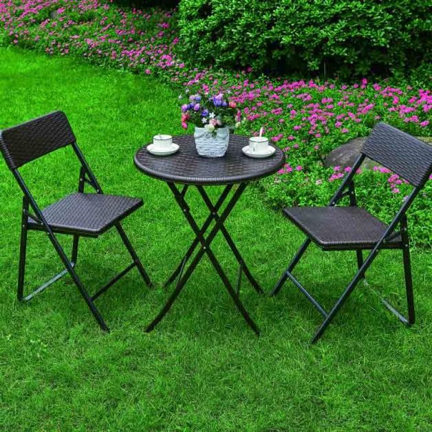 Remarkable Patio Bistro Dining Chairs Table Set Folding Outdoor Round Garden Cafe Furniture Frankydiablos Diy Chair Ideas Frankydiabloscom
