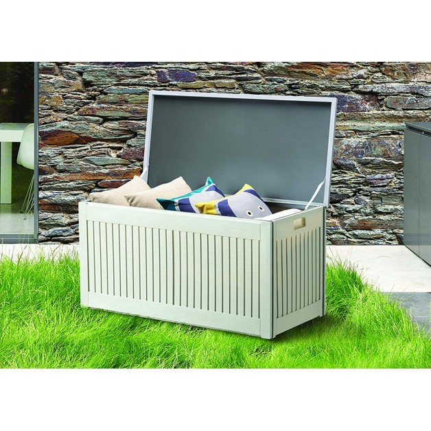 Plastic Box With Lid Small Shed Outdoor Storage Box 270L