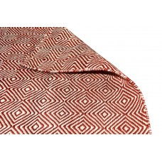 Red Outdoor Indoor Plastic Rug Patio Reversible Recycled Carpet