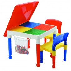 Play Table With Storage Kids Activity Multi-purpose