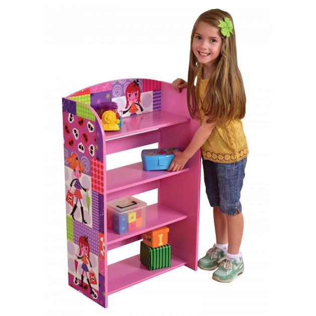 4 Tier Bookshelf Bookcase Storage Unit  Shelves