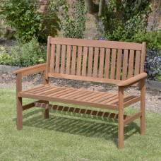 Garden Hardwood Bench 2 Seater