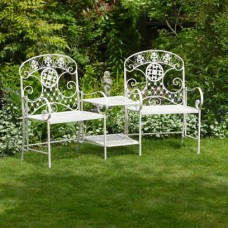Metal Garden Seats Metal Garden Chairs Table