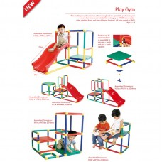 Kids 10 in 1 Models Play Slide Gym Outdoor Garden Toddler Children Playground